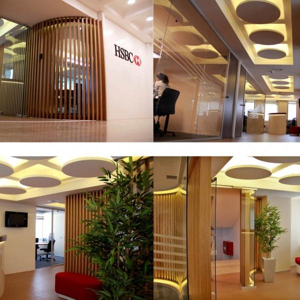 HSBC-Filialen an 275 Standorten